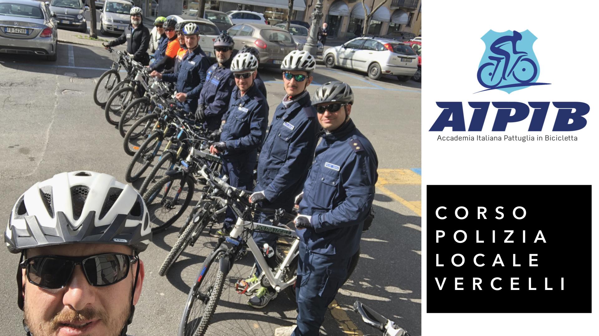 corso bike patrol  polizia locale vercelli