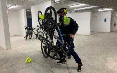 le tecniche operative nella pattuglia in bicicletta?