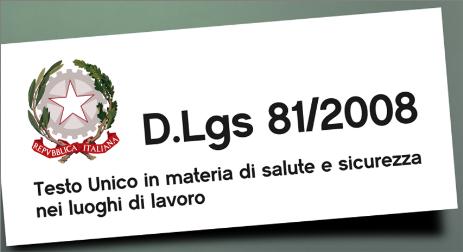 L'aspetto normativo del servizio in bici, anche la pattuglia sottostà al decreto 81/2008