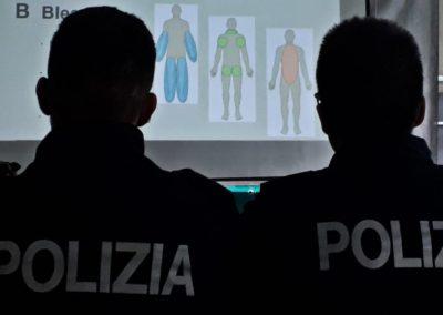 polizia di stato thin blue line Italy corso stop the blead