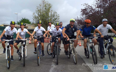 Bike Patrol Course Treviso Local Police