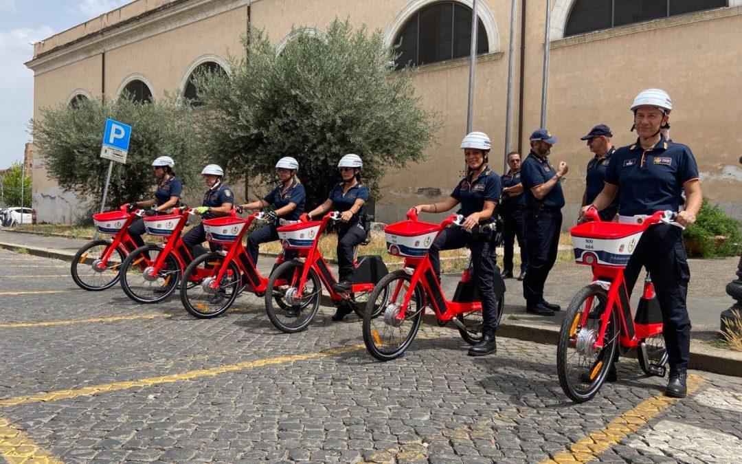 Non solo la bicicletta fa il servizio