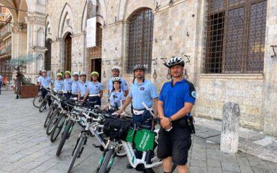 The Course Bike Patrol Local Police Siena